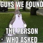 Found him
