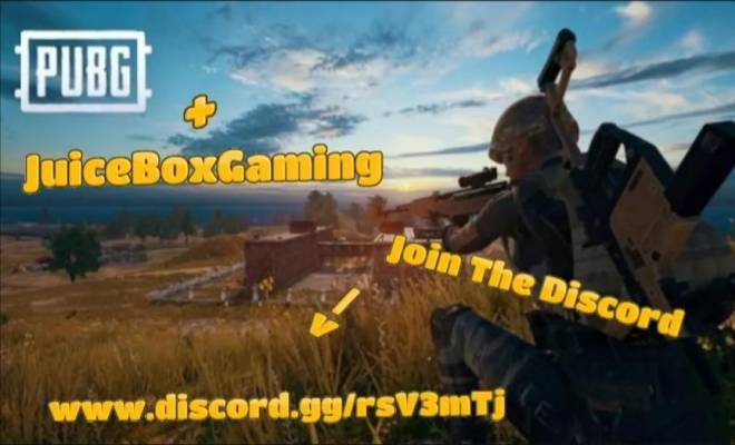 PUBG: Promotions - One of the biggest discord servers is having its first pubg tournament and you can be a part of it!! image 1