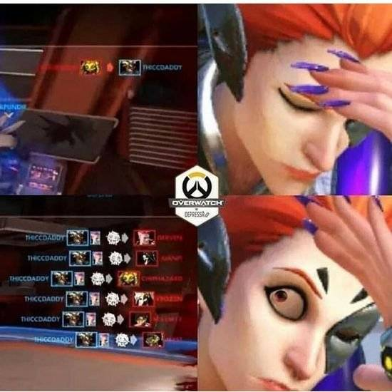 Overwatch: Memes - he died again... (checking kill cam) WTF image 1