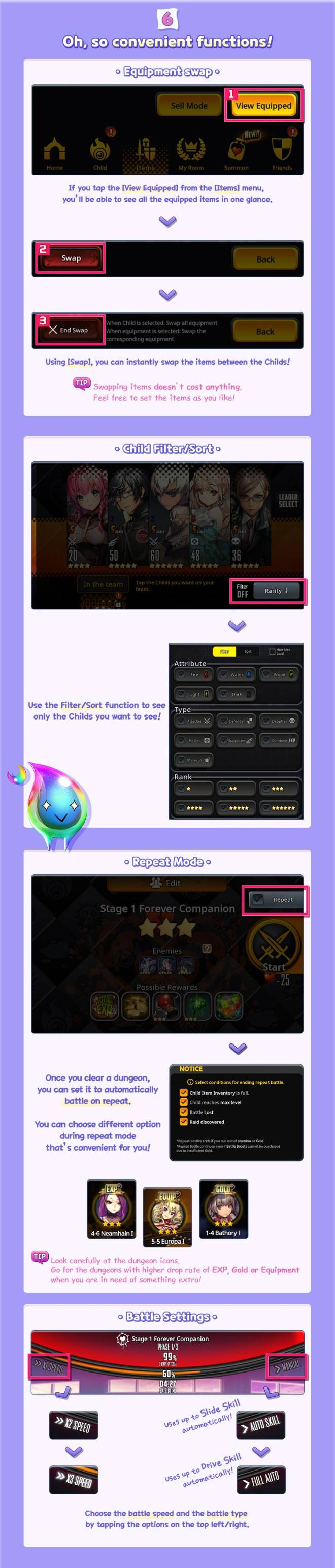 DESTINY CHILD: GUIDE - Beginner's Guide to Archfiend Contest image 7