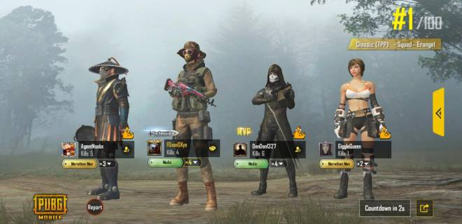 PUBG: PUBG Mobile - Wins for the day! image 6
