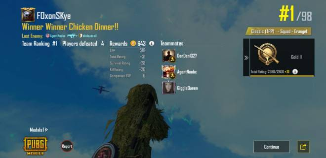 PUBG: PUBG Mobile - Wins for the day! image 3