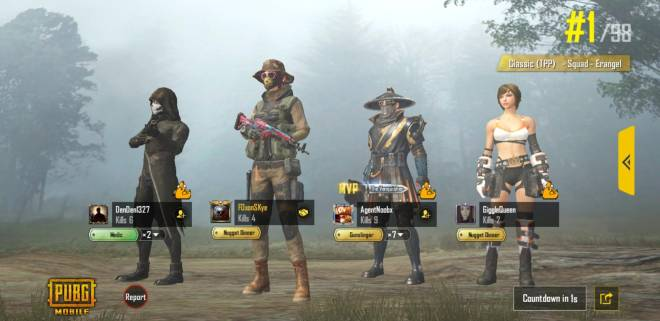 PUBG: PUBG Mobile - Wins for the day! image 4