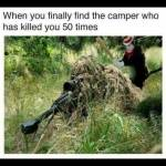 So many campers in ground war😂😂🌹
