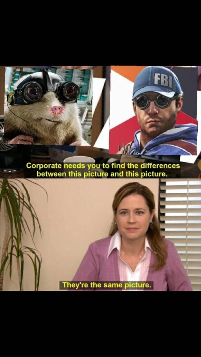 Rainbow Six: Memes - Same pictures image 2