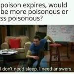 Poisonous poison