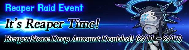 60 Seconds Hero: Idle RPG: Events - [Event] Reaper Stone Drop Amount Doubled 2/11(Tue) – 2/17(Mon) (UTC-8) image 1