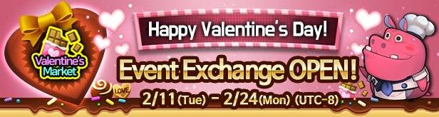 60 Seconds Hero: Idle RPG: Events - [Event] Valentines Day Event Exchange 2/11(Tue) – 2/24(Mon) (UTC-8) image 1