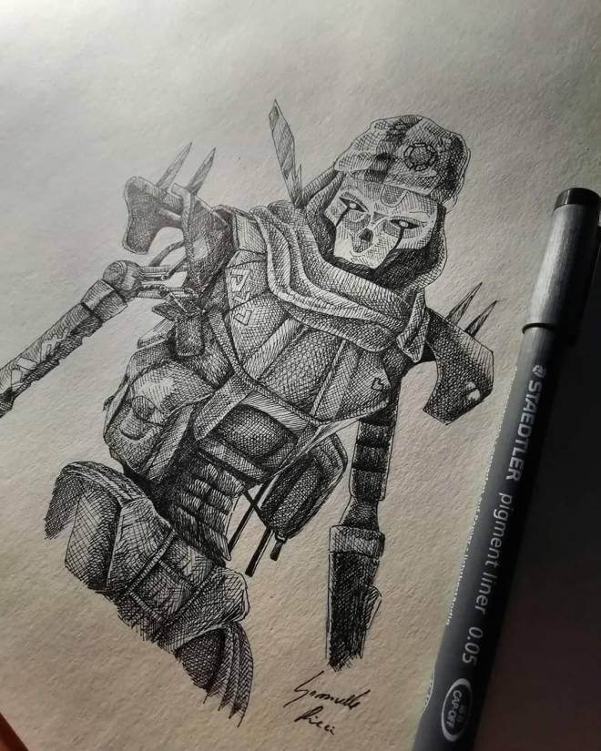 Apex Legends: General - Revenant art  image 1
