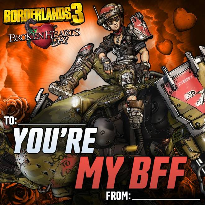 Borderlands: General - Borderlands Valentines image 3