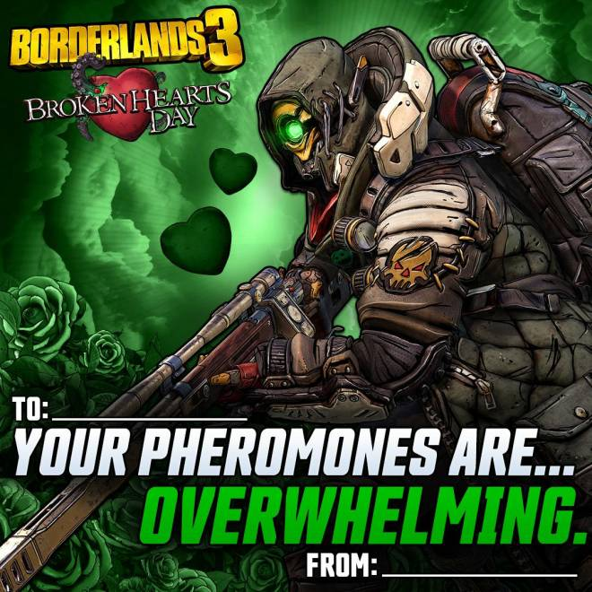 Borderlands: General - Borderlands Valentines image 2