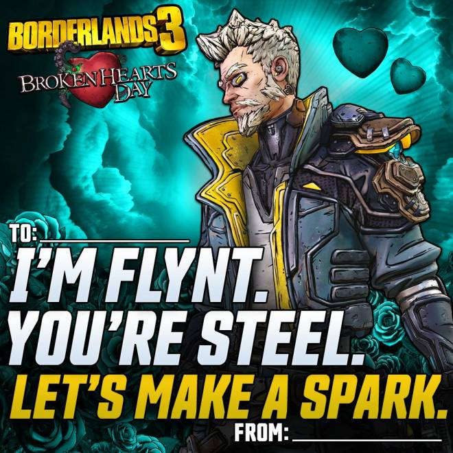Borderlands: General - Borderlands Valentines image 4