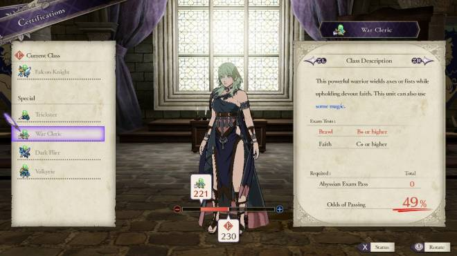 Indie Games: General - Fire Emblem: Three Houses DLC short review - Classes image 5