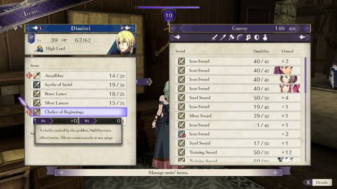 Indie Games: General - Fire Emblem: Three Houses DLC short review - Abyss facilities and rewards image 14
