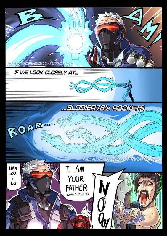Overwatch: Memes - I'm your... f....a......... image 1