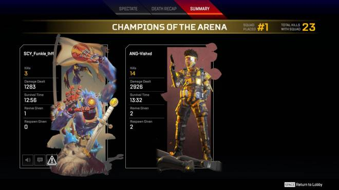 Apex Legends: Promotions - Almost had 3k dmg and 20 bom image 3