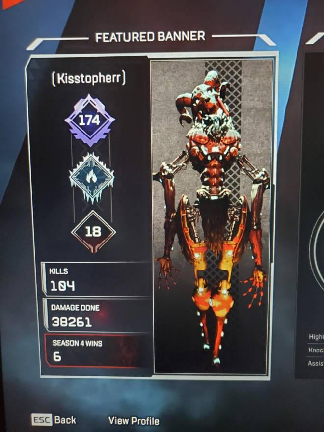 Apex Legends: Looking for Group - Ayo, I am a Revenant/Pathfinder main who needs two teammates to just play some ranked in Apex with. image 4