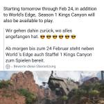 Kings Canyon im coming 😍