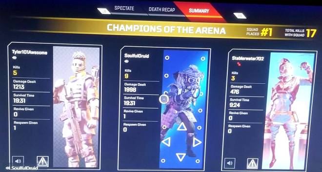 Apex Legends: General - Another nice game today image 2