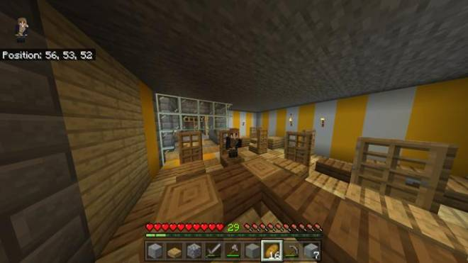 Minecraft: General - My diner (In a fallout shelter under my house) image 1