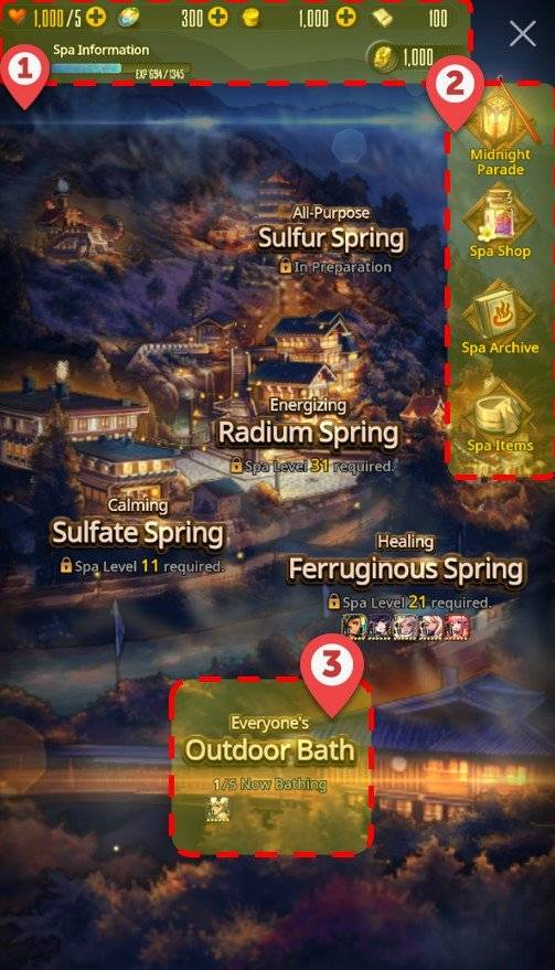DESTINY CHILD: GUIDE - [NOTICE] Infernal Realm Spa Guide image 5