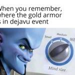 New event be like: