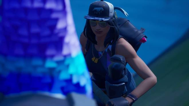 Fortnite: Battle Royale - Above the law... (Fortune Showcase) 💙✨  image 3