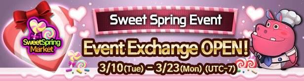 60 Seconds Hero: Idle RPG: Events - [Event] Sweet Spring Event Exchange 3/10(Tue) – 3/23(Mon) (UTC-7) image 1