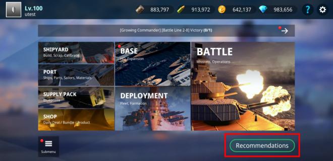 Warship Fleet Command: Notice - [NOTICE] UPDATE NOTE : Mar. 11, 2020 image 8