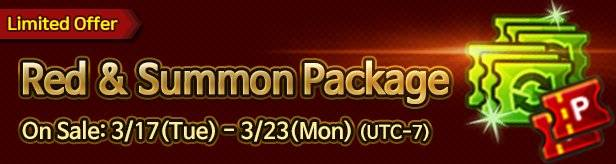 60 Seconds Hero: Idle RPG: Events - [Limited Offer] Red Ticket & Summon Package 3/17(Tue) – 3/23(Mon) image 1