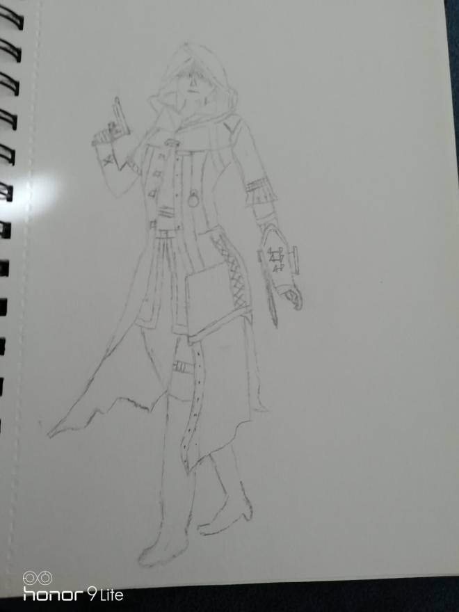 Assassin's Creed: General - Drawing of Evie Frye  image 1