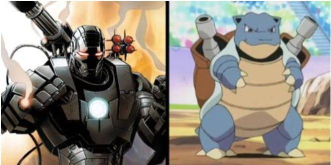Pokemon: General - What If The Avengers Had Pokemon Partners? image 7