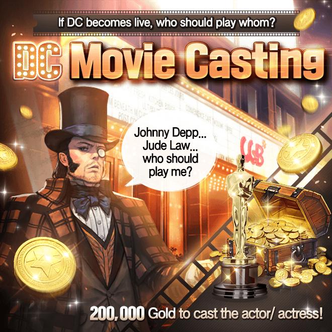 DESTINY CHILD: PAST NEWS - [EVENT] DC Live Action Movie Casting image 9