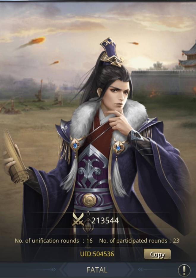 Three Kingdoms RESIZING: Limited General Board [Zhang Fei], END - FATAL/CHANNEL5/504536 image 1