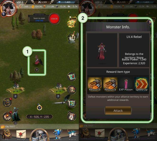 VERSUS : REALM WAR: Game Guide - ▣ Monster  image 2