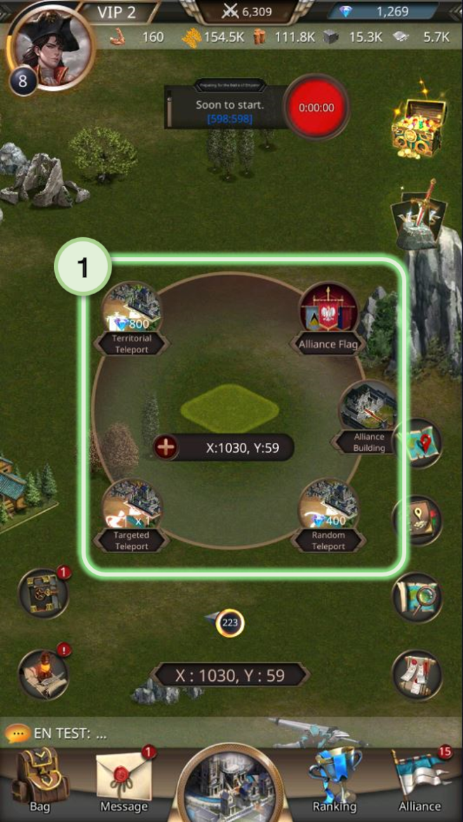 VERSUS : REALM WAR: Game Guide - ▣ Move Castle  image 2