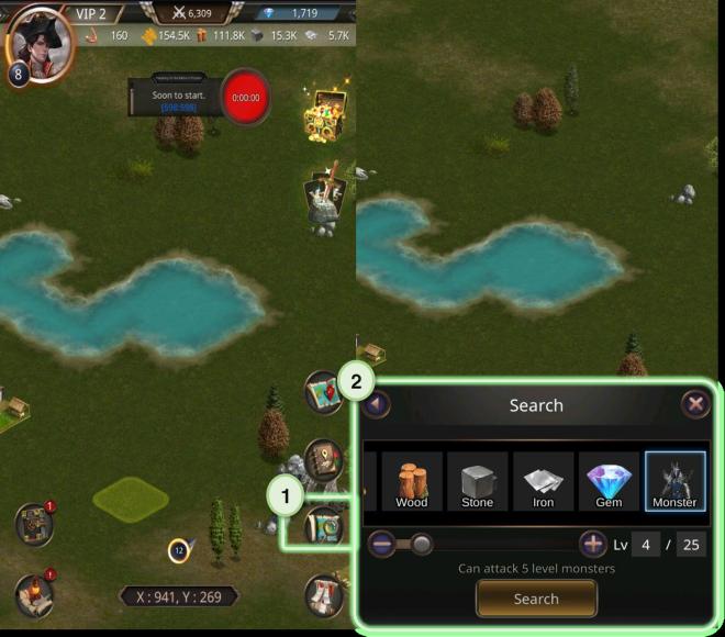 VERSUS : REALM WAR: Game Guide - ▣ Battle  image 6