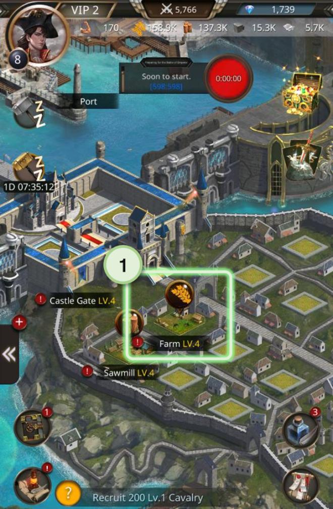 VERSUS : REALM WAR: Game Guide - ▣ Farm  image 2