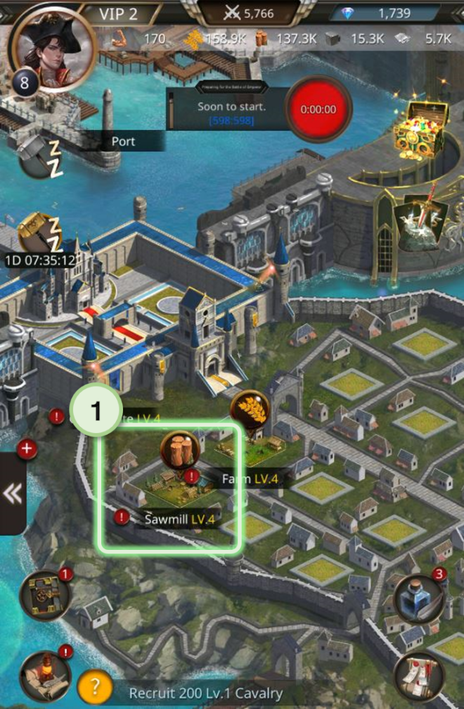 VERSUS : REALM WAR: Game Guide - ▣ Sawmill  image 2