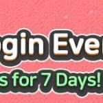 [Event] Spring Login Event! 3/24(Tue) – 3/30(Mon)