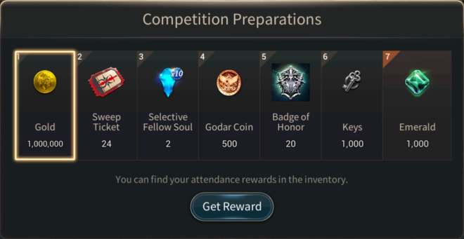 Hundred Soul: Events (Terminated) - [Event Notice] Guild Competitions Preparations image 2