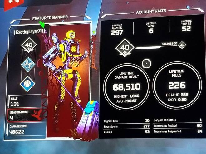 Apex Legends: General - Here are my stats. Wanna play?  image 2