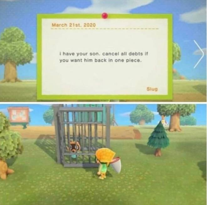 Animal Crossing: Posts - [Meme] how to pay the debt from Tom Nook fast image 1