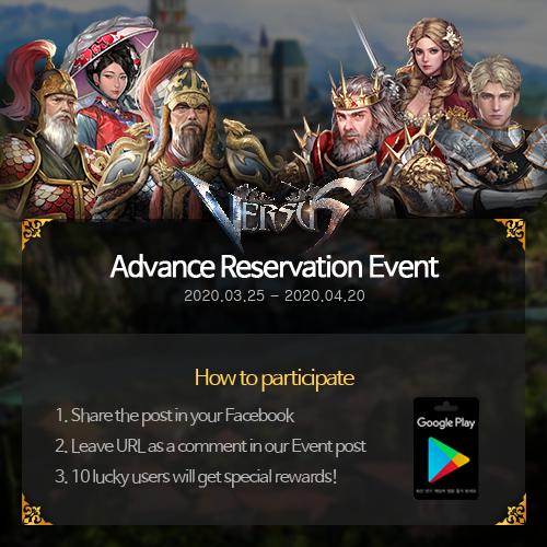 VERSUS : REALM WAR: Community Event(End) - Sharing Pre-registration Event image 3
