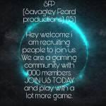 SFP (Savagley Feard productions).