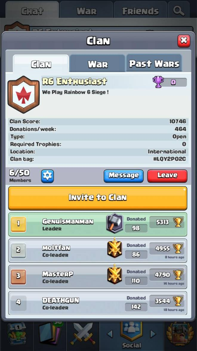 Clash Royale: Recruiting - NEED MORE BUT WE WANT MORE! image 1