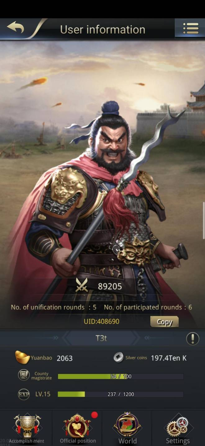 Three Kingdoms RESIZING: Limited General Board [Zhang Fei], END - T3t / Channel 4 / 408690 image 2