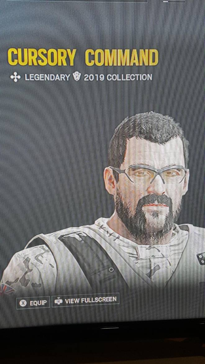 Rainbow Six: General - I got this thatcher headgear but I dont know how I got it can someone tell me if its rare or not? image 1
