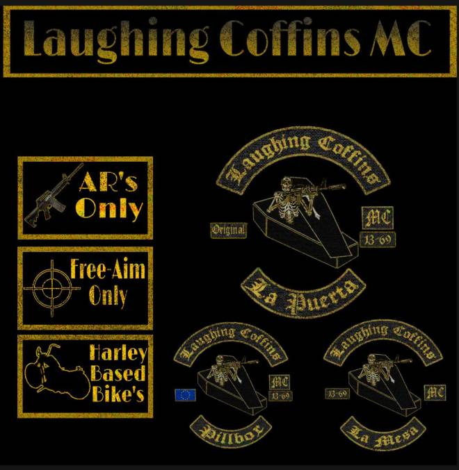 GTA: Promotions - Laughing Coffins MC (XB1 Only) image 2