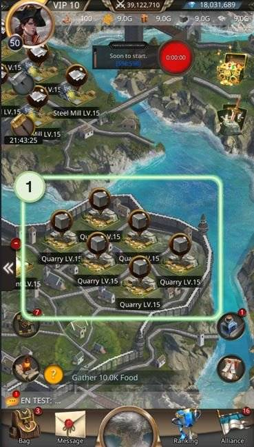 VERSUS : REALM WAR: Game Guide - ▣ Quarry  image 2